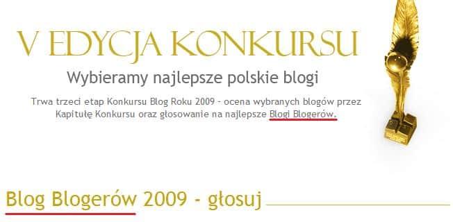 blog blogerów